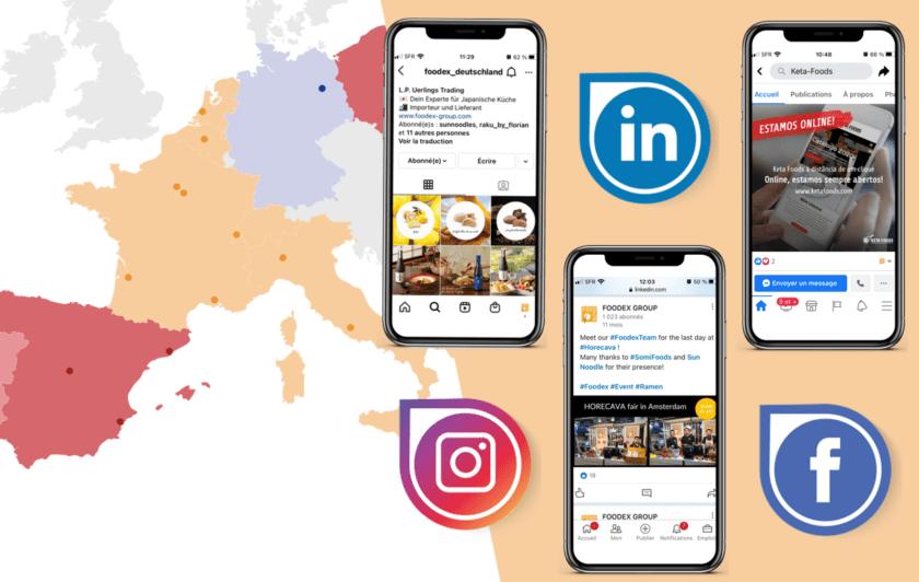 Foodex Group Social Media
