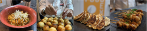 plat sirha lyon foodex japan food institute tonkatsu takoyaki gyoza tsukune