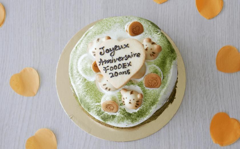 Switzerland matcha cake 20th anniversary